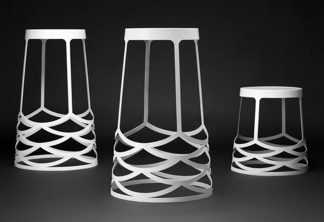 La Scala stools by Kain Lucas.