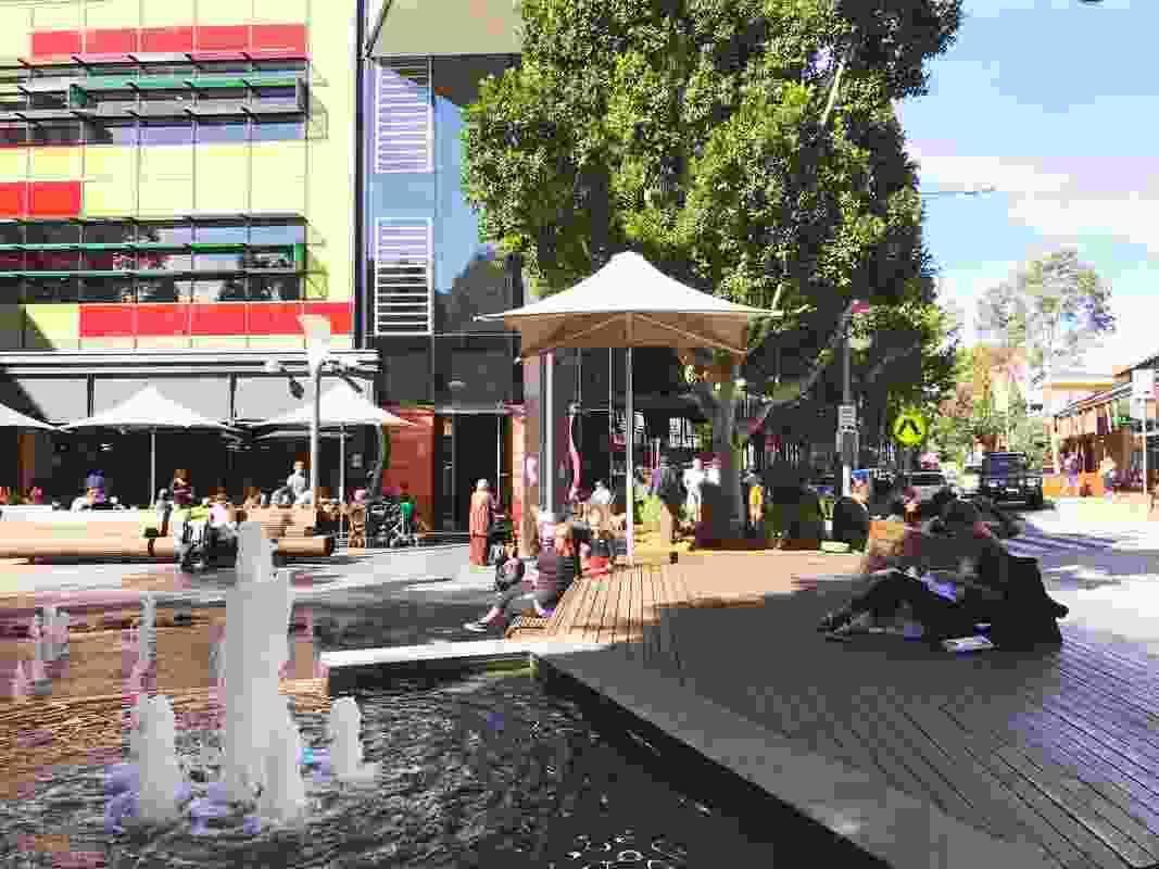 Rouse Hill Town Centre.