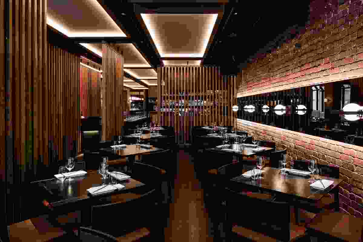 Sake Japanese Flinders Lane Melbourne by Melissa Collison Design.
