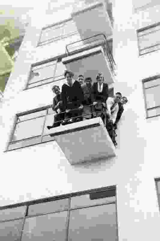 Bauhaus students.