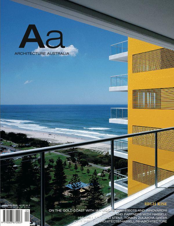 Architecture Australia, July 2006