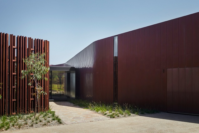 Boneo Country House by John Wardle Architects.