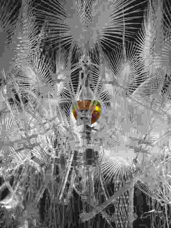 Hylozoic Series, 2010 (detail) installation, 1200×1200×500 cm.