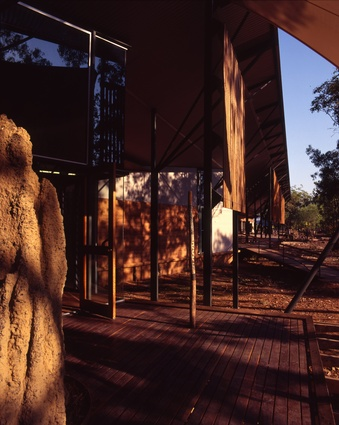Bowali Visitor Centre, Kakadu by Troppo Architects in association with Glenn Murcutt.