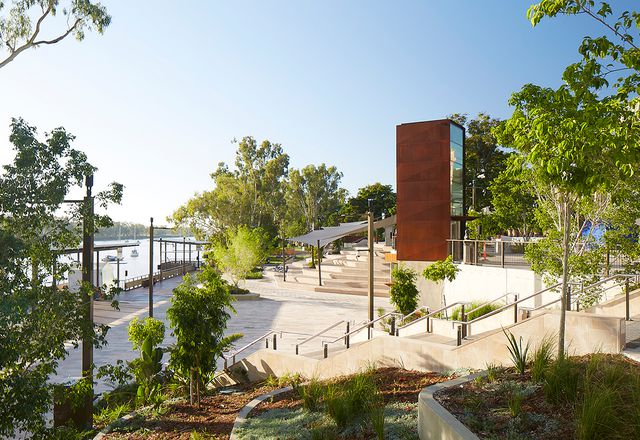 Rockhampton Riverside Revitalisation by Urbis.