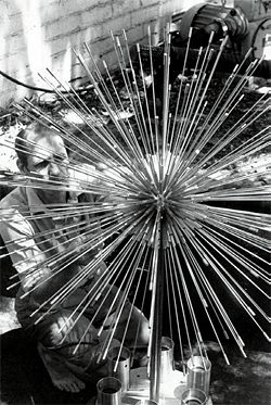 "Mini ""El Alamein"" fountain, for Perak Turf Club, Ipoh, Malaysia. Photograph by Robert's daughter Jane Van Hagen."