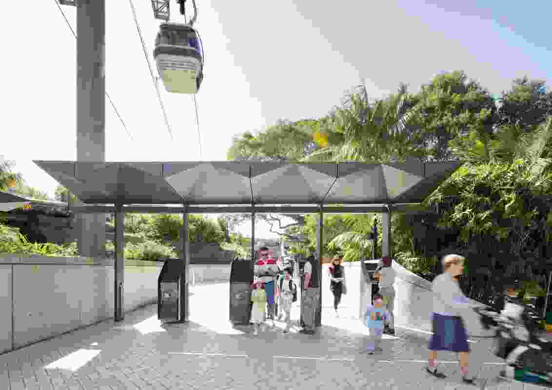 Taronga Zoo Upper Entry Precinct by BVN Architecture.
