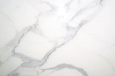 Calacatta marble.