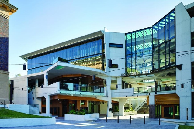 University of Queensland Oral Health Centre by Cox Rayner in association with Hames Sharley.