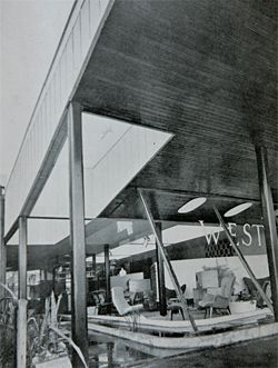 620 Wickham Street by Karl Langer, as published in Architecture in Australia January–March 1954.