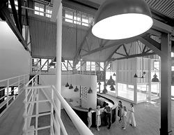 25 Year Award winner, the Wharf Theatre by Vivian Fraser and the NSW Government Architect. Photograph Max Dupain.