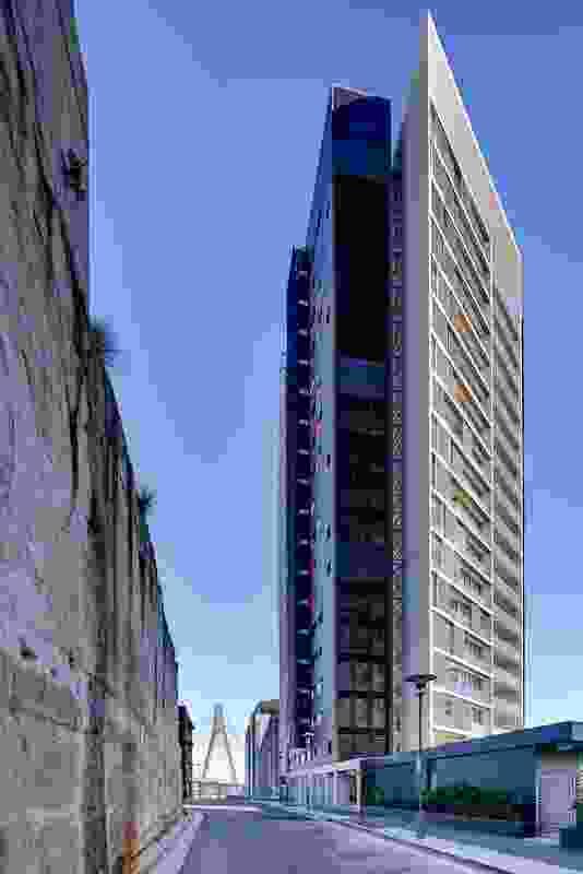 Silk Apartments by Tony Caro Architecture.