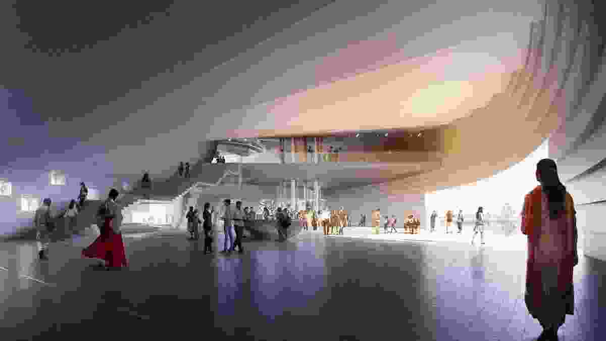 Singapore Founders Memorial proposal by Johnson Pilton Walker and RDC Architects.