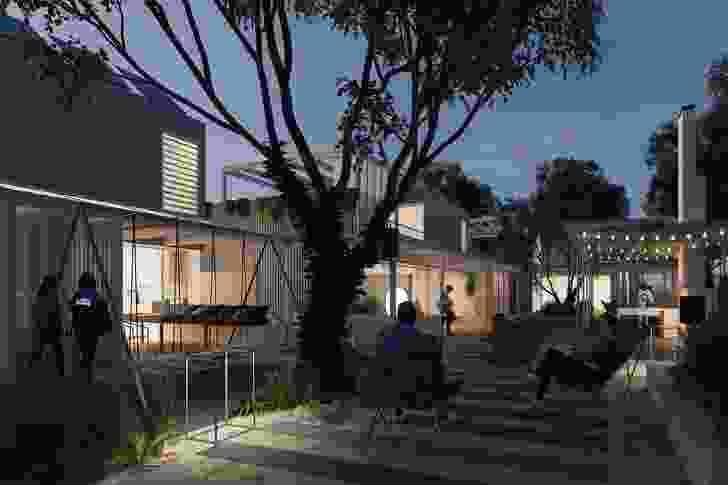 Concept Spaces Fremantle housing by Philip Stejskal Architecture.