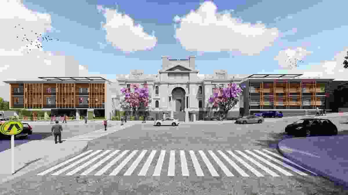 Nihon University Newcastle by Azusa Sekkei.