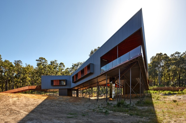 Nannup Residence by Iredale Pedersen Hook Architects.