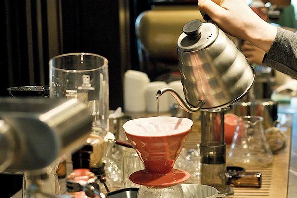 Coffee alchemy at Melbourne Cafe Plantation.