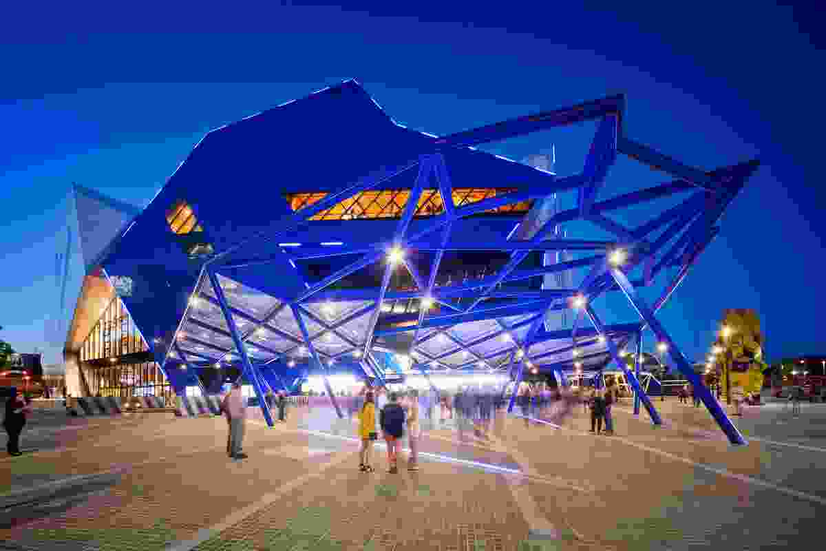 Perth Arena by ARM Architecture & Cameron Chisholm Nicol, joint venture architects.
