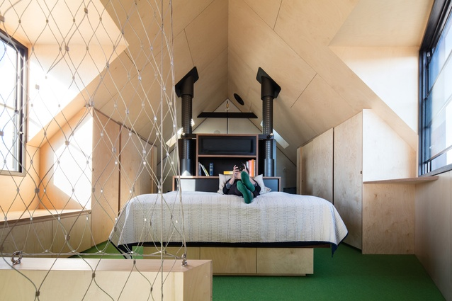 Acute House by OOF! Architecture (architecture and interior design) in collaboration with JPILD (interior design).