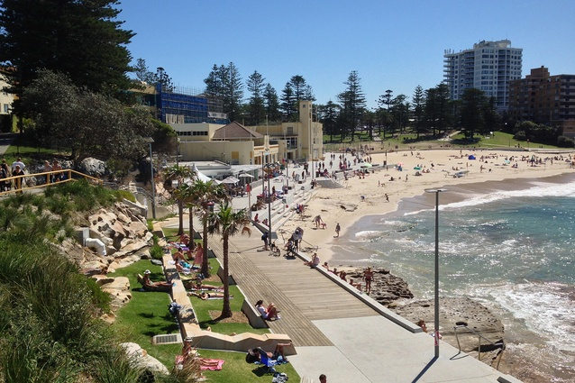 Where the Shire meets the Sea: the Cronulla Esplanade and Seawall upgrade by Sutherland Shire Council – Design Services.