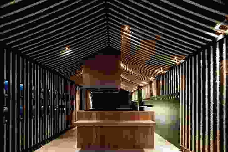 2008 Hospitality Design Award: Maedaya Bar by Architects EAT.