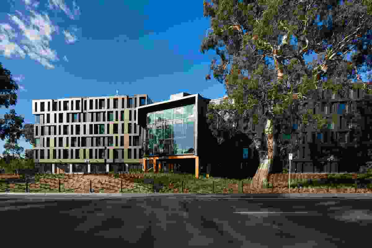 RMIT Bundoora West Student Accommodation (Vic) by Richard Middleton Architects (RMA).