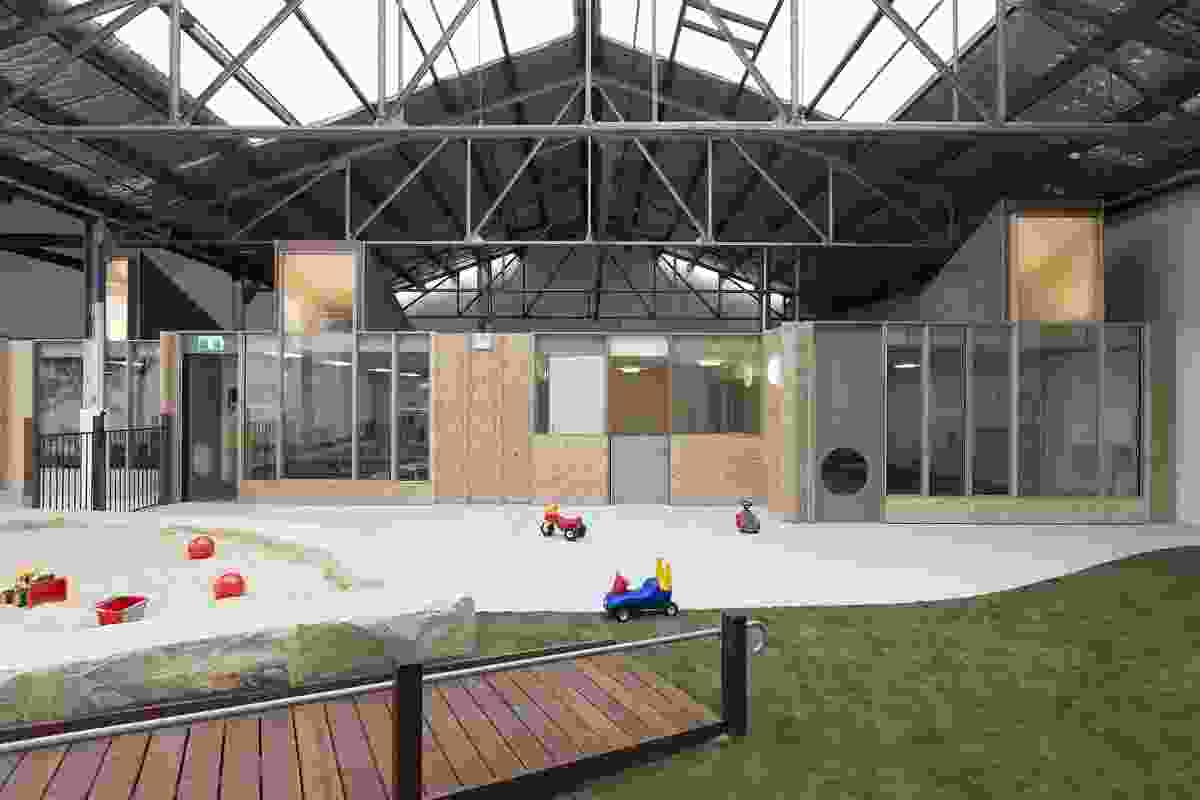 Camperdown Childcare by CO-AP Architects.