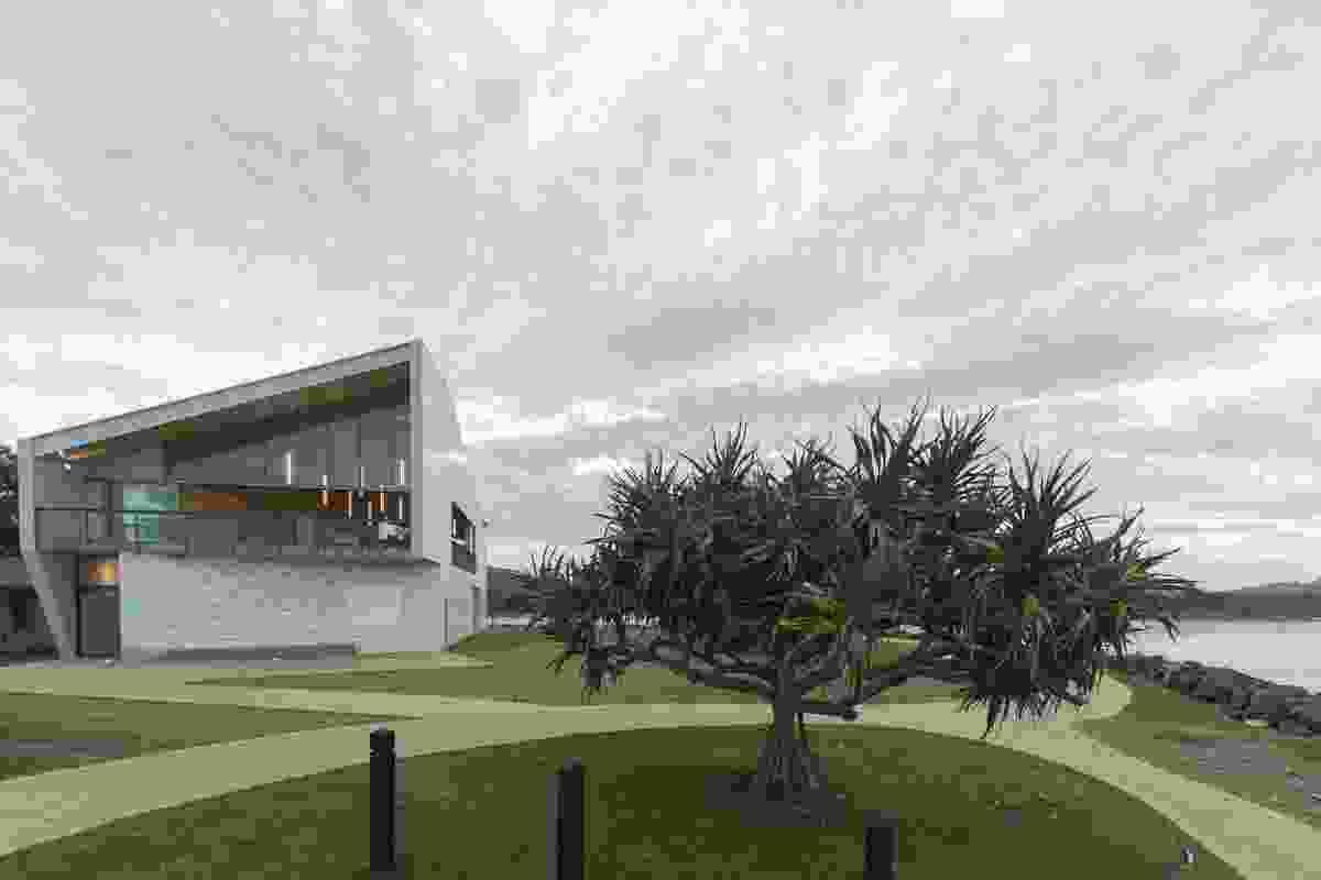 Kempsey Crescent Head Surf Life Saving Club (NSW) by Neeson Murcutt Architects.