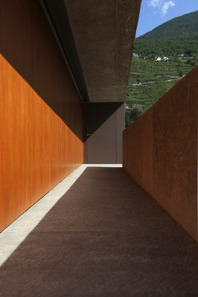 DMB House in Montagna, Italy, designed by Gianmatteo Romegialli.