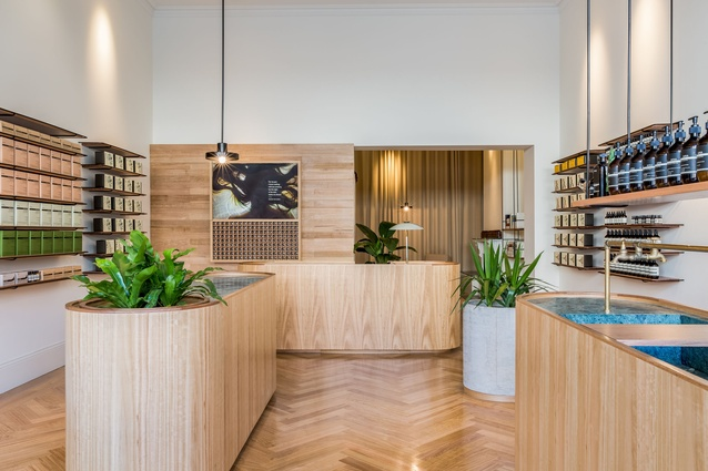 Aesop Rundle Street by Genesin Studio