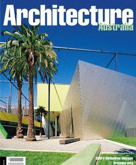 Architecture Australia, January 2001