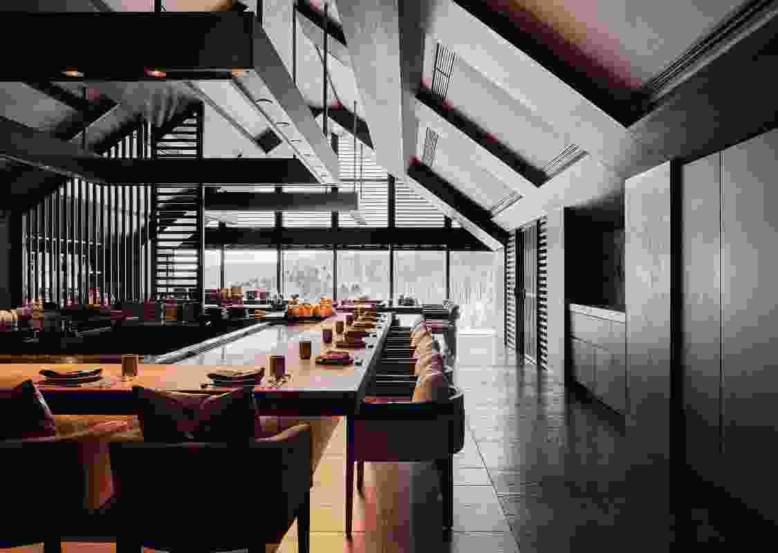 由Bar Studio设计的Park Hyatt Niseko Hanazono。