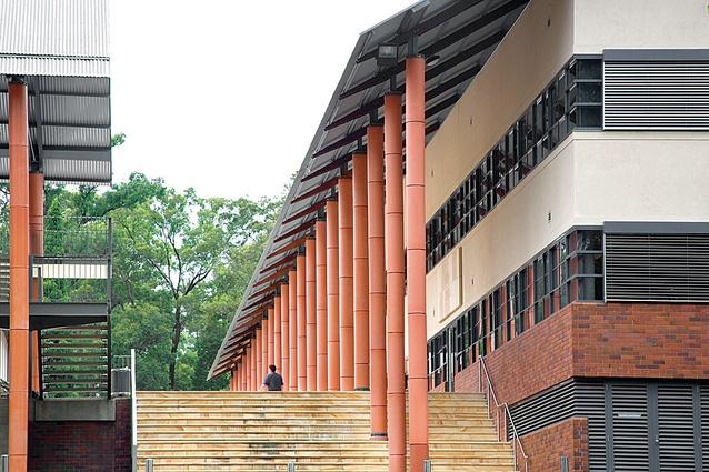 Modelling: The King's School, Parramatta, NSW (2002).