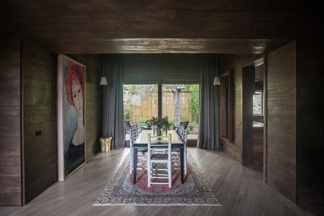 Hardwood House by Adam Kane Architects.