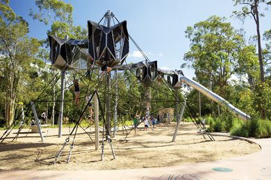 Calamvale District Park by Brisbane City Council.
