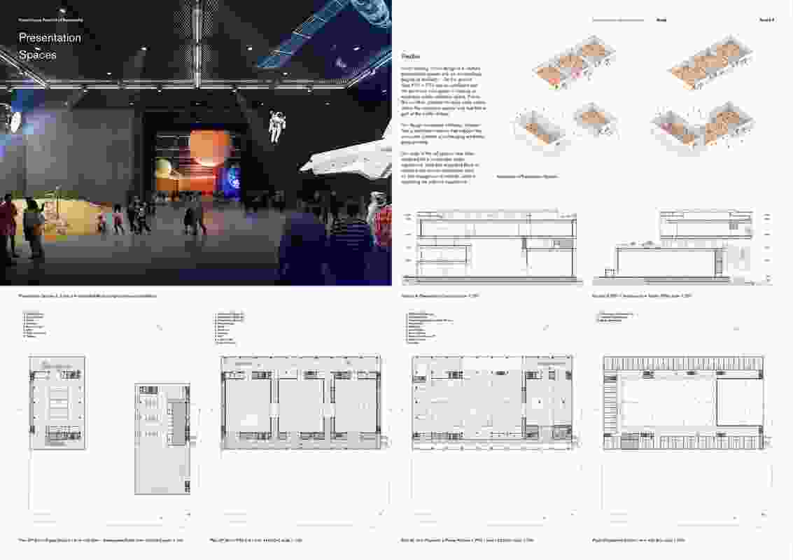 Powerhouse Parramatta proposal by Bernardes Architecture (Brazil) and Scale Architecture (Australia).