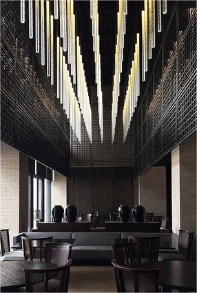 International Chapter Award for Interior Architecture: Lalu Hotel Qingdao ­by Kerry Hill Architects.