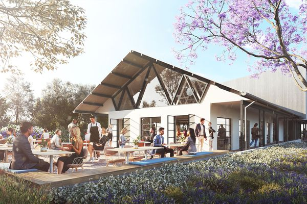 Parramatta Park Cafe by Sam Crawford Architects.