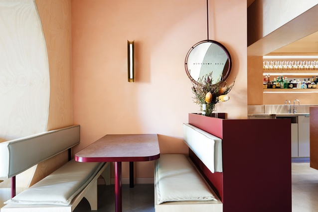 vibrant taubmans colours used to create memorable restaurant