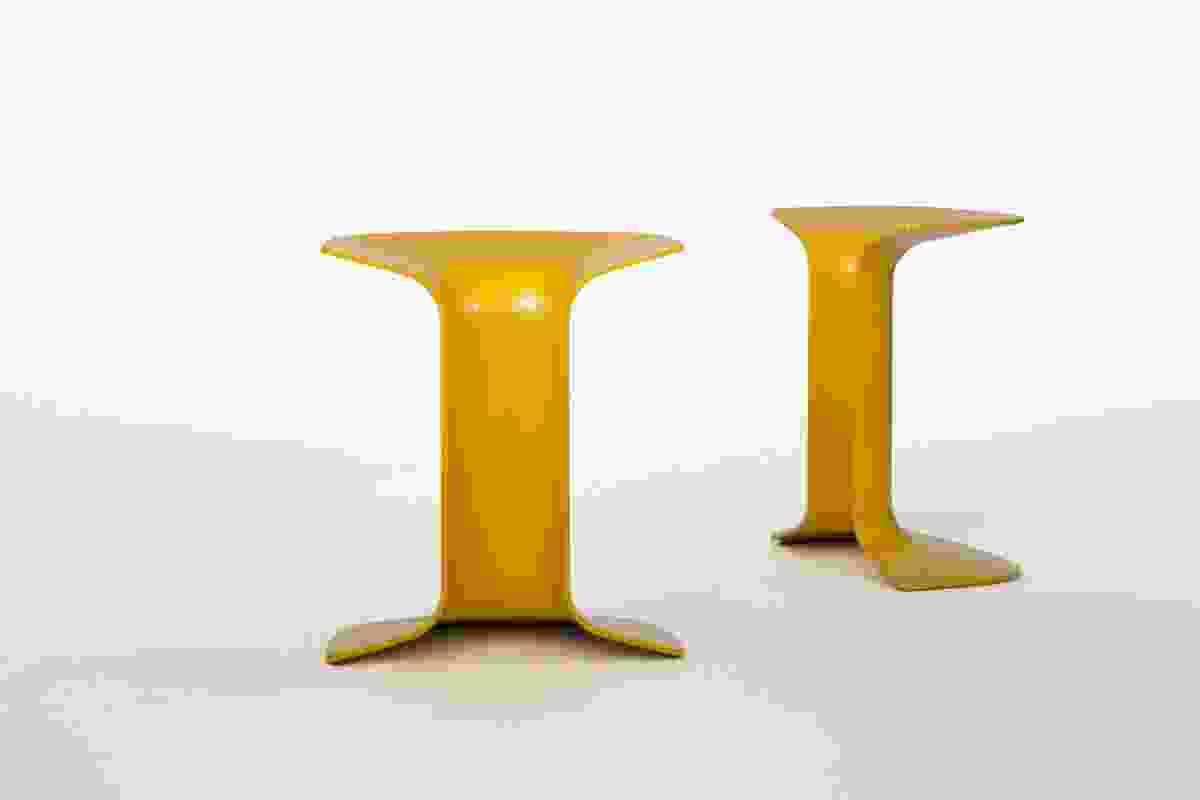 Serif stool by Charles Wilson.