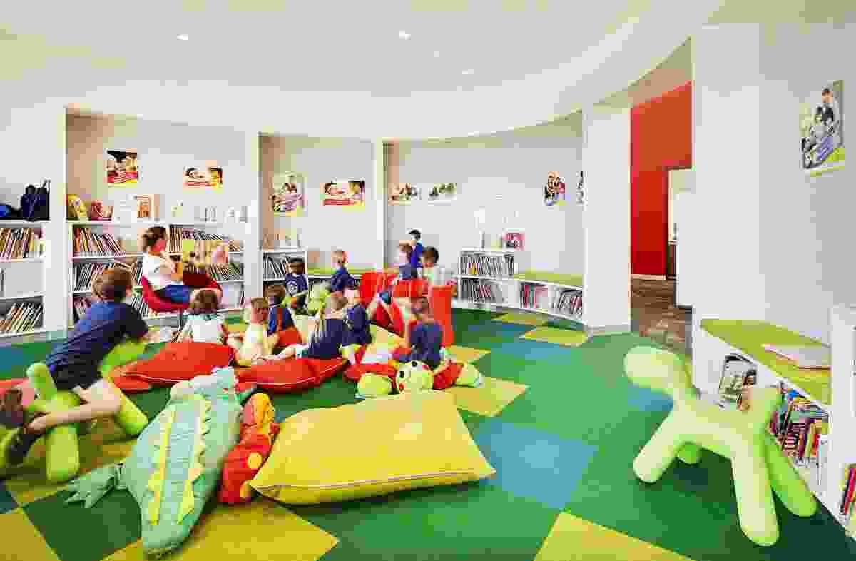 East Kimberley Development Package - Kununurra Community Library by Bateman Architects.