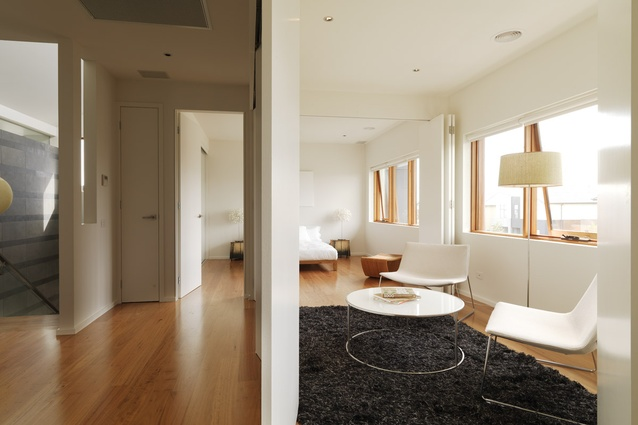 All rooms are planned as flexible spaces.