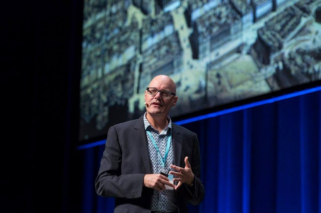 Mark Stevenson at the 2018 National Architecture Conference.