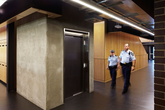 Belconnen Police Station by BVN Architecture in association with FMSA.