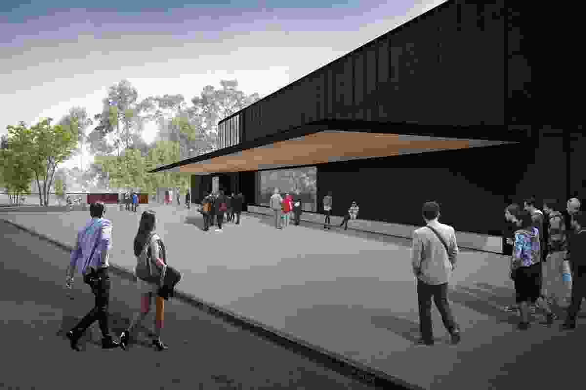 The redevelopment of the Port Arthurn Historic Site visitor centre by Rosevear Stephenson.