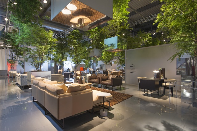 <i>Floating Forest</i> installation for Cassina at 2014 Milan Furniture Fair.