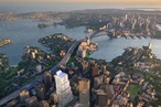 Tower with 'sky gardens' proposed above planned Sydney Metro station