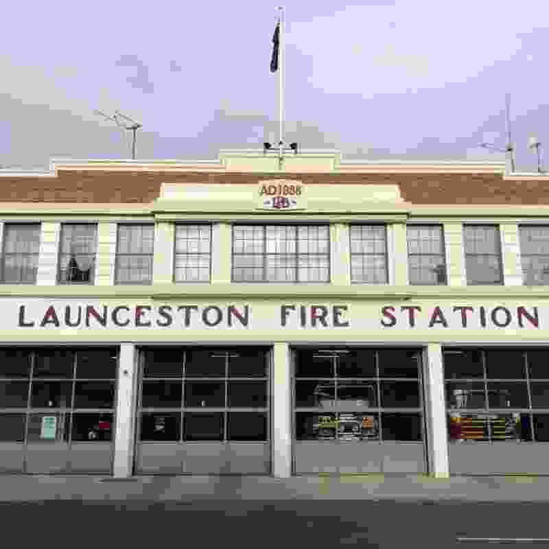 Launceston Fire Station.