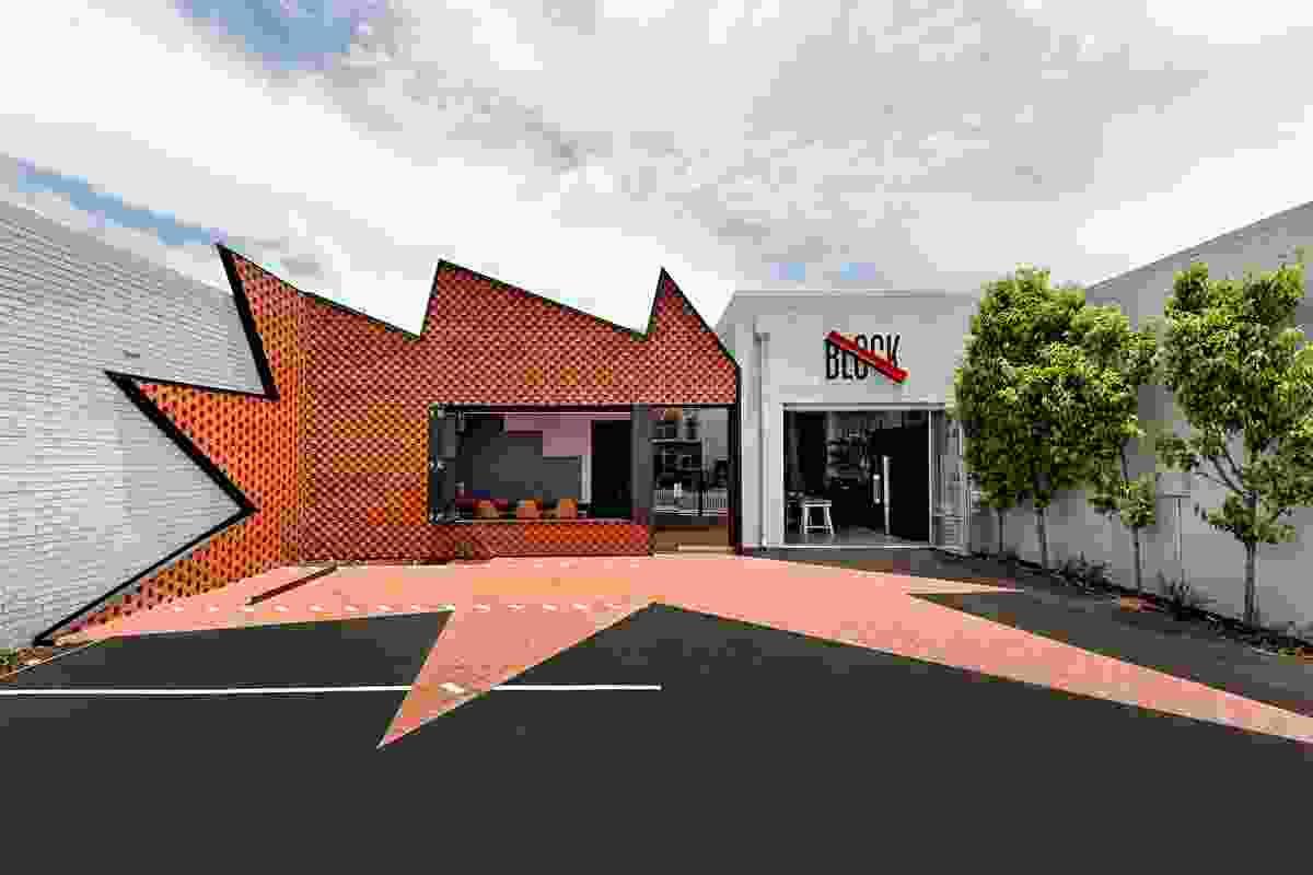 Block Branding HQ by Bosske Architecture.