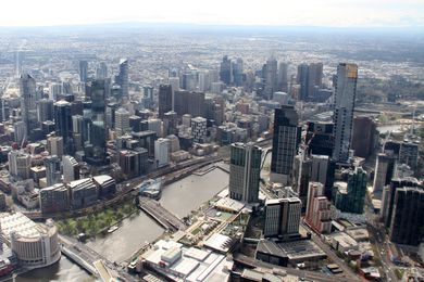 Negative gearing produces an underutilization of urban spaces - density without intensity - in places such as Melbourne's Southbank.